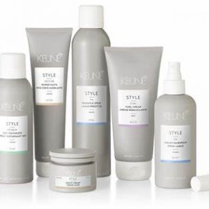 Keune Styling & Leave in products