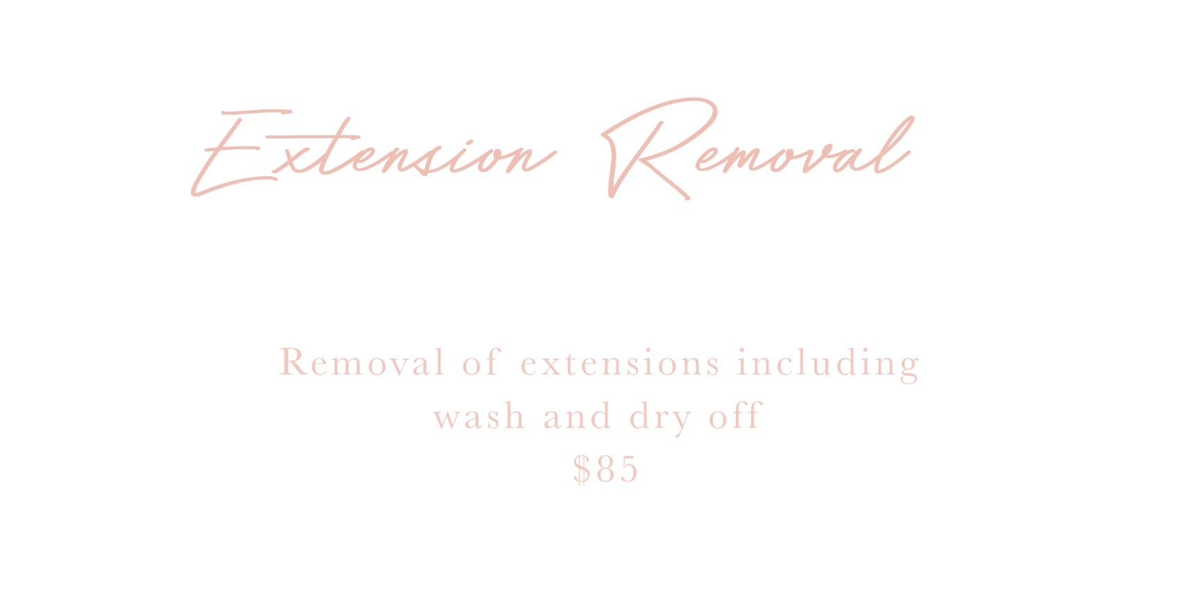 Extension Removal